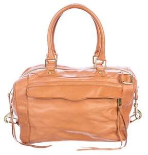 Rebecca Minkoff Grained Leather Tote - BROWN - STYLE