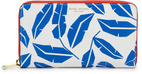 Henri Bendel West 57Th Printed Zip Around Continental Wallet