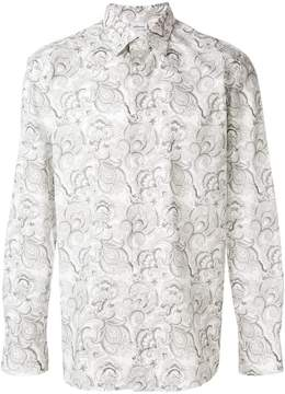 Brioni all-over print shirt