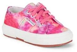 Superga Girl's Printed Lace-Up Sneakers
