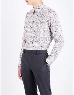Paul Smith Paisley floral Soho-fit cotton-poplin shirt
