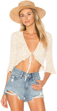 For Love & Lemons Aurora Tie Top