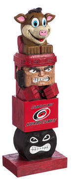 Evergreen Carolina Hurricanes Tiki Totem