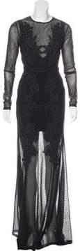 Alice McCall Semi-Sheer Maxi Dress w/ Tags