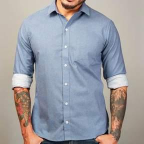 Blade + Blue Blue Japanese Wave Print Shirt - Zachary