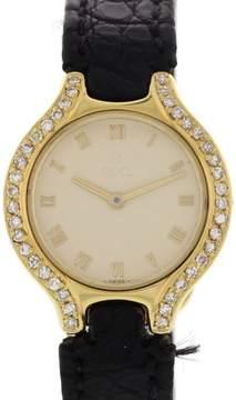 Ebel 18k Yellow Gold w/ Diamonds Womens Watch