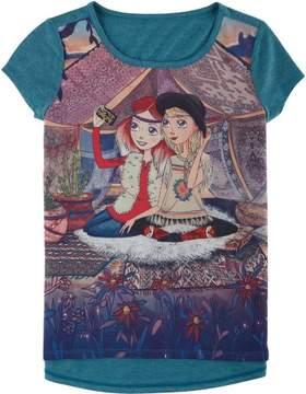Jessica Simpson Big Girls Marie T-Shirt