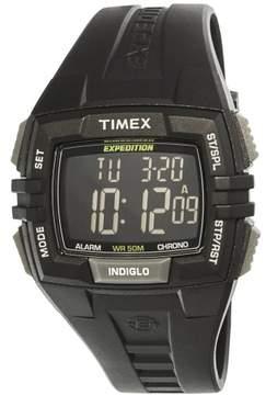 Timex Men's Expedition T49900 Black Resin Quartz Sport Watch
