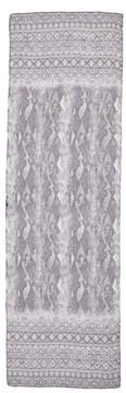 St. John Women's Raja Snakeskin Print Silk Georgette Scarf