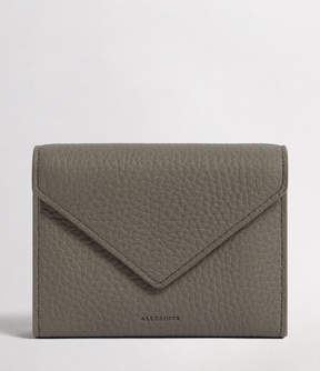 AllSaints Voltaire Leather Card Holder
