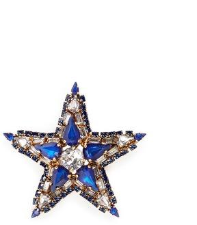 Erickson Beamon 'American Graffiti' Swarovski crystal star brooch