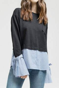 Blu Pepper Sweater Top
