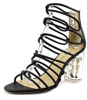 Katy Perry The Janelle Open Toe Leather Sandals.