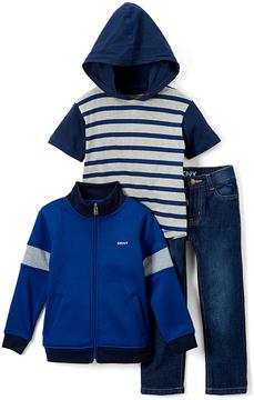 DKNY Dress Blues Jacket Set - Infant & Toddler