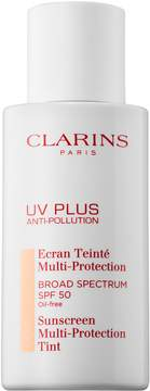 Clarins UV PLUS Anti-Pollution Sunscreen Multi-Protection Tint SPF 50