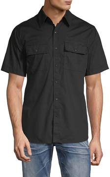 Affliction Men's Justify Cotton Button-Down Shirt