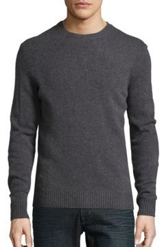 Black & Brown Black Brown Wool-Blend Crewneck Sweater