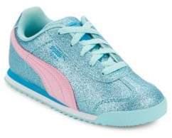 Puma Girl's Roma Glitz Glamm Sneakers