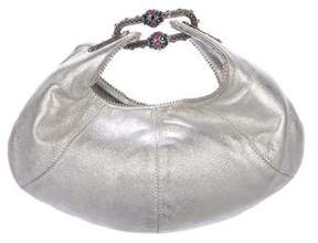 Jimmy Choo Metallic Mini Hobo