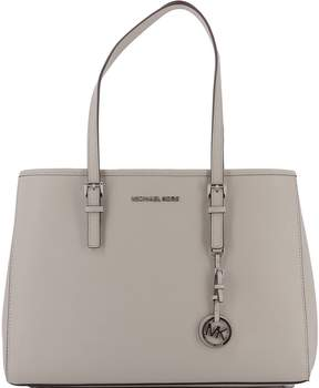 Michael Kors Beige Leather Shoulder Bag - BEIGE - STYLE
