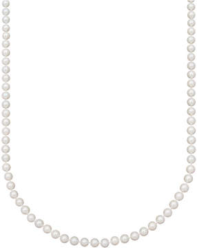 Belle de Mer Pearl Necklace, 18 14k Gold Aa Akoya Cultured Pearl Strand (6-6-1/2mm)
