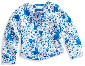 GUESS Floral-Print Jacket (2-5xy)