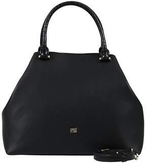 Class Roberto Cavalli Black Woman Leather Bag.