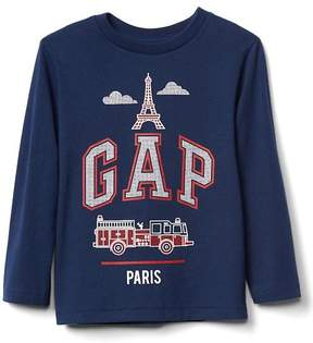 Gap City logo long sleeve tee