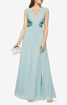 BCBGMAXAZRIA Julianne Cutout Gown