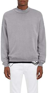 NSF Men's Cotton Mock-Turtleneck Sweatshirt