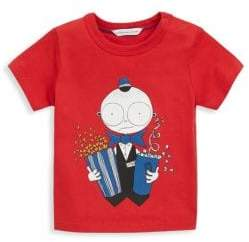 Little Marc Jacobs Baby Boy's & Little Boy's Movie Usher Cotton Tee