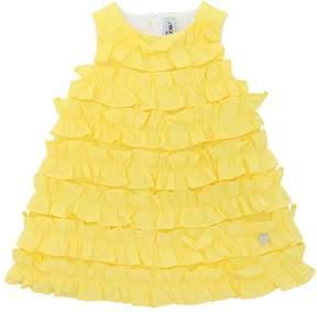 Simonetta Cotton Poplin & Milano Jersey Dress