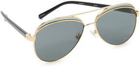 No.21 No. 21 Aviator Sunglasses