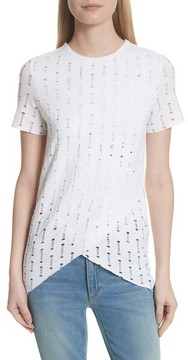 Twenty Women's Perforated Tee