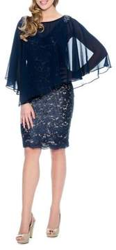 Decode 1.8 Floral Lace Sheath Dress