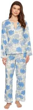 BedHead Bracelet Sleeve Tunic Pajama Set