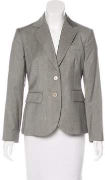 Brooks Brothers Pinstripe Wool Blazer