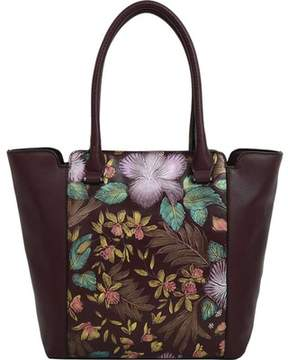 Mellow World Gardenia Floral Tote Handbag (Women's)
