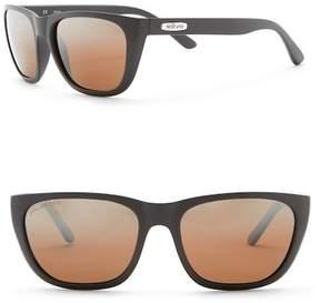 Revo Grand Sixties Polarized 58mm Square Sunglasses