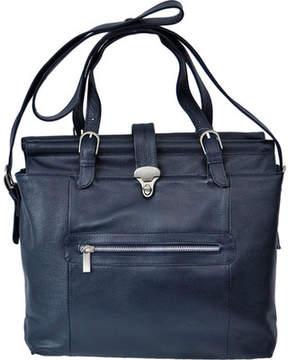 Piel Leather Double Dowel Rod Shoulder Bag 3117 (Women's)
