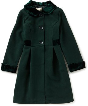 Copper Key Big Girls 7-16 Velvet-Collar Coat
