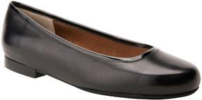 Ros Hommerson Black Odelle Leather Flat - Women