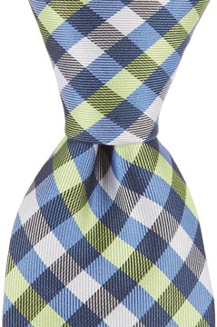 Class Club Gold Label 50 Checked Tie