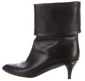Louis Vuitton Secrecy Leather Ankle Boots