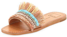 Dolce Vita Cadiz Fringed Embellished Sandal