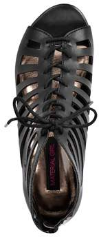 Material Girl Women Harley Wedge Sandals.