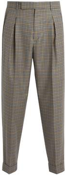 Paul Smith Micro-checked wool trousers
