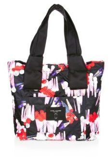 Marc Jacobs Geo Spot-Print Knot Small Tote