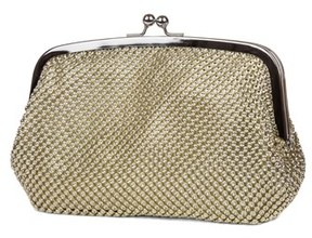Jessica McClintock Framed Dome Clutch.