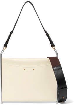 Chloé Roy Textured-leather Shoulder Bag - White